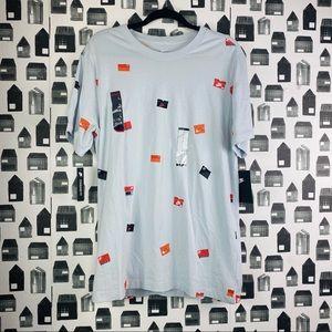 Nike NWT Men's Shoe Box Graphic T-shirt Size Large